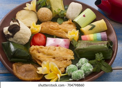 jajanan pasar,traditional snacks,Indonesian food