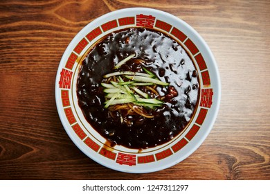 Jajangmyeon, Korean black bean noodle