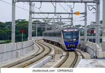 Jakarta / 01 Maret 2019 : MRT Lebak bulus running well