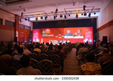 Jakarta 6 September 2019 : International petroleum business  convention and exhibition in Indonesia ( IPA)