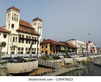 Jakarta City in August