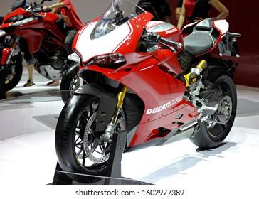 Jakarta / ID - April 9 2016: Ducati Panigale 250.