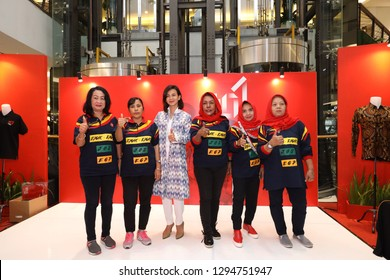 Jakarta, Indonesia. 25 January 2019. Official Merchandise launch event by the head of the Jokowi campaign team by Mr. Erick Thohir at FX Sudirman Jakarta.