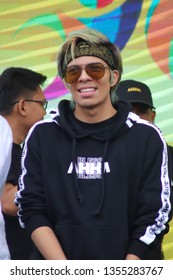 Jakarta, Indonesia - April 01, 2019 : Atta Halilintar King of Yoube Asia from indonesia with the most subcribers