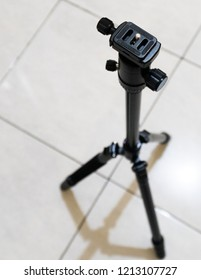 Jakarta, Indonesia - August 8, 2018: Tripod sirui T004kx with ballhead C-10x for photography.