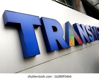 Jakarta / Indonesia - January 2020 :  transmedia Television logo