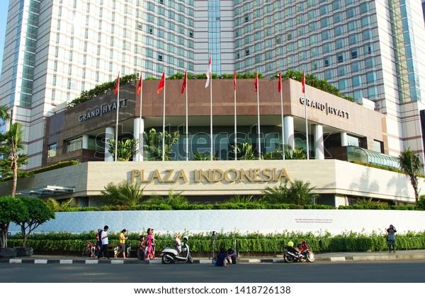 Jakarta Indonesia June 6 2019 Plaza Stock Photo Edit Now 1418726138