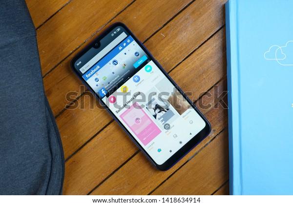Jakarta Indonesia June 8 2019 Xiaomi Stock Photo (Edit Now