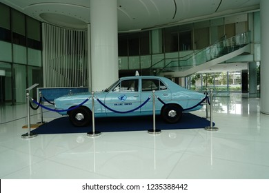 Jakarta, Indonesia - May 2 2018: Holden Torana LJ Series, the first Indonesian taxi car by BlueBird Group on 1972