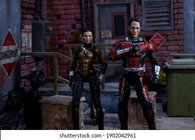 Jakarta, Indonesia - September 16, 2018: Antman and The Wasp