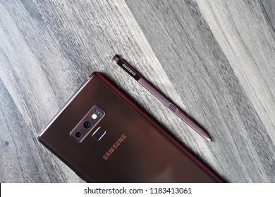 Royalty Free Samsung Galaxy Note 9 Stock Images Photos Vectors