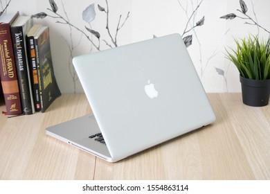 jakarta Sunday, September 15, 2019 indonesia. laptop macbook pro