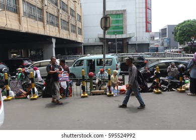 JAKARTA,INDONESIA-MAC,04,2017: In the streets of Jakarta,Indonesia.