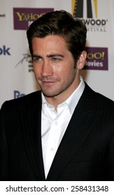 Jake Gyllenhaal at the 9th Annual Hollywood Film Festival Awards Gala Ceremony held at the Beverly Hilton Hotel in Beverly Hills, California United States on October 24, 2005.