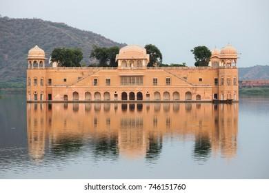 Jal Mahal, (Water Palace) Jaipur, Rajasthan, India