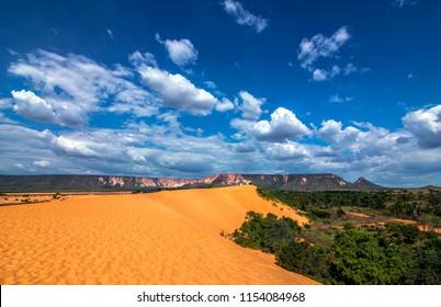 Jalapao dunes, Brazil