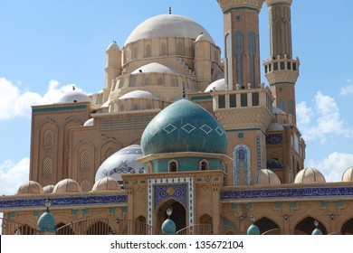 Jalil Khayat Mosque in Erbil, Iraq.