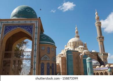 Jalil Khayat Mosque Erbil Iraq.