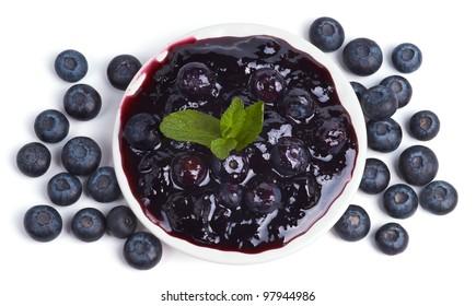 Jam from Blueberries