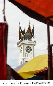 Jam Gadang - Icon Of Bukittinggi, West Sumatera, Indonesia