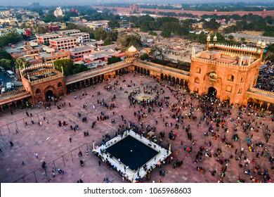 Jama Masjid at Old Delhi, India
