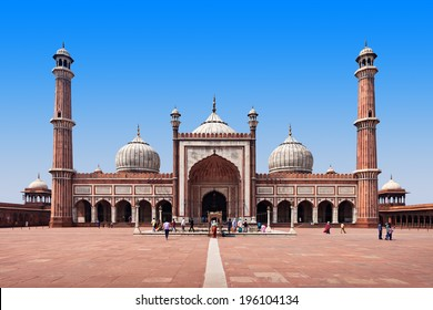 Jama Masjid is the principal mosque of Old Delhi in India.
