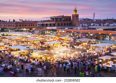 Jamaa el Fna in Marrakesh