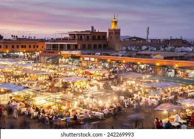 Jamaa el Fna in Marrakesh