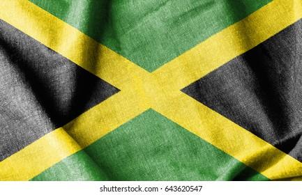 Jamaica Cotton Flag