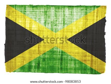 Jamaica flag on original