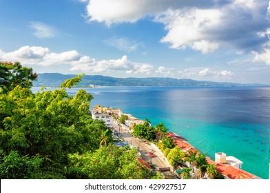 Jamaica island, Montego Bay, Caribbean Sea. - Shutterstock ID 429927517