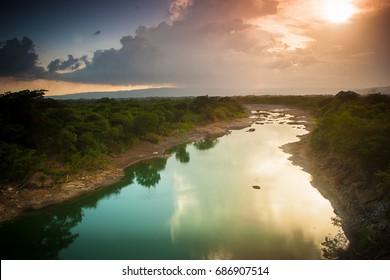 Jamaica Landscape, Rio Minho River