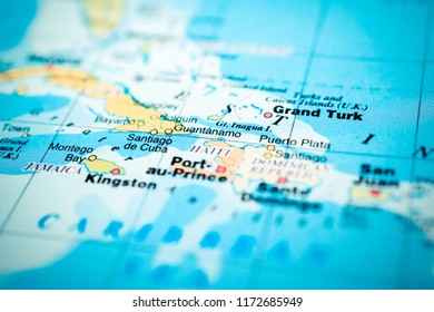 Map kingston images stock photos vectors shutterstock jamaica on the map gumiabroncs Gallery