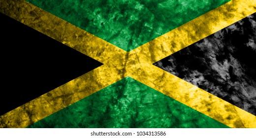 Jamaica smoke flag
