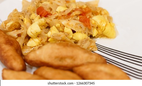 Jamaican Ackee & Saltfish with Festival