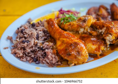 Jamaican Jerked Sauce Chicken