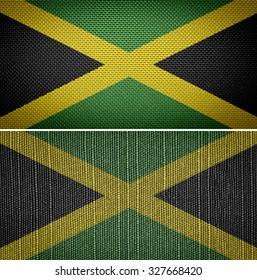 Jamaican textile flags