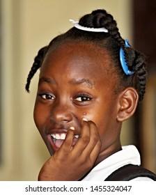 Jamaican girls young Jamaican Slim