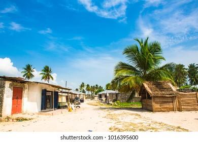 Jambiani village, Zanzibar. Tanzania.