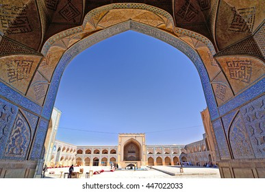 Jameh, Friday Mosque of Isfahan, October 5, 2014, Iran