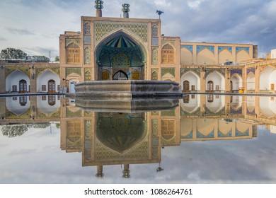 Jameh (Friday) mosque in Zanjan, Iran