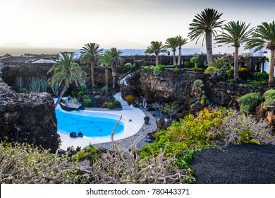 Jameos del Agua. Lanzarote. Canary Islands. Spain