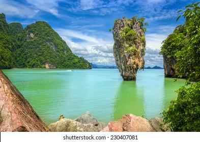James Bond Island (Khao Phing Kan, Ko Tapu), Phang Nga Bay, Thailand