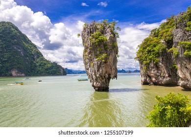 James bond Island, Phang Nga bay thailand.