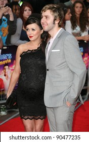 James Buckley and Clair Meek arriving for The Inbetweeners, The Movie, film premiere at the Vue Leicester Square, London. 16/08/2011 Picture by: Alexandra Glen / Featureflash