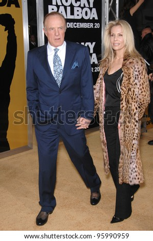 bc71677049880 JAMES CAAN   wife at the world premiere of