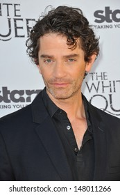 """James Frain at launch party in Los Angeles for his TV series """"The White Queen"""" at the British Consul's residence. July 25, 2013  Los Angeles, CA"""