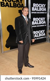 """JAMES FRANCIS KELLY III at the world premiere of """"Rocky Balboa"""" at the Grauman's Chinese Theatre, Hollywood. December 13, 2006  Los Angeles, CA Picture: Paul Smith / Featureflash"""