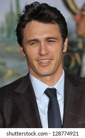 """James Franco at the world premiere of his movie """"Oz: The Great and Powerful"""" at the El Capitan Theatre, Hollywood. February 13, 2013  Los Angeles, CA Picture: Paul Smith"""