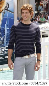 """James Marsden at the Los Angeles Premiere of """"Cats & Dogs: The Revenge Of Kitty Galore"""" held at the Grauman's Chinese Theater in Los Angeles, California, United States on July 25, 2010."""